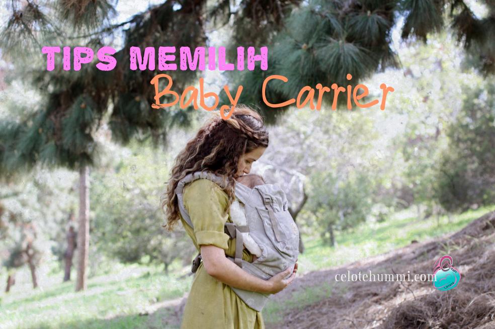 Tips Memilih Baby Carrier