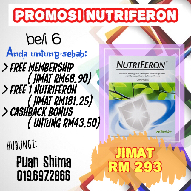 Promosi Beli 6 Free 1