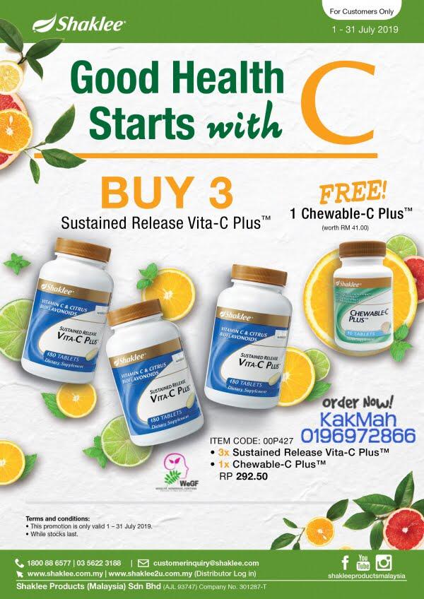 Promosi Vitamin C